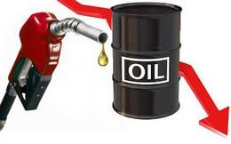 Giá dầu thô rơi mạnh