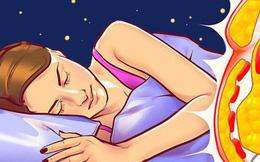 6 sai lầm trước khi ngủ khiến chúng ta tăng cân vào ban đêm