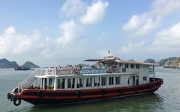 Tàu du lịch Cát Bà bị cấm vào vịnh Hạ Long