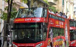 Chính thức khai trương tuyến xe buýt hai tầng mui trần đầu tiên ở Hà Nội: Giá vé 300k/4h