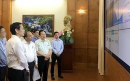 Thủ tướng thị sát hệ thống 'đo sức khỏe' doanh nghiệp của Ủy ban Quản lý vốn Nhà nước