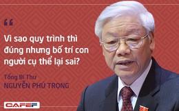 Những câu hỏi khó về công tác nhân sự của Tổng Bí thư tại phiên khai mạc Hội nghị Trung ương 7