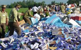 Thí điểm bán đấu giá thuốc lá lậu để xuất khẩu