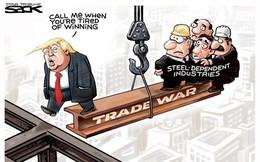 Thương mại toàn cầu nếm trái đắng vì cuộc chiến tranh thương mại của Tổng thống Trump