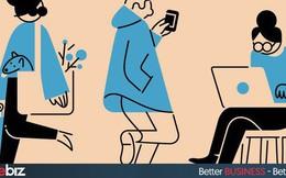 Sáng ra đến công ty quẹt thẻ rồi đi ăn sáng, ăn no rồi mới lững thững về làm việc: Bảo sao lúc nào bạn cũng kêu thiếu thời gian