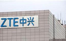 Giá cổ phiếu ZTE giảm gần 40% khi giao dịch trở lại