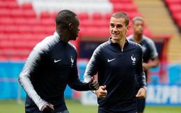 Đội hình tiền tỷ của Pháp khởi động cho trận đấu khai màn World Cup 2018