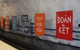 Bên trong những ga tàu điện ngầm đẹp hơn cả triển lãm nghệ thuật tại Thụy Điển