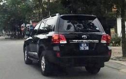 Đã bán được 1 xe ôtô doanh nghiệp tặng Tỉnh ủy, UBND tỉnh Nghệ An