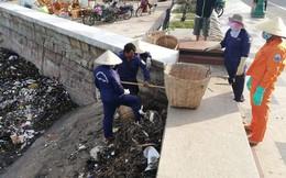 Vũng Tàu: Các bãi tắm lo mất khách vì núi rác từ biển