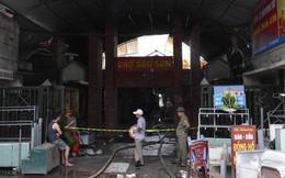 Tiểu thương chợ Sóc Sơn: Bình cứu hỏa hoạt động thì đã không cháy cả chợ