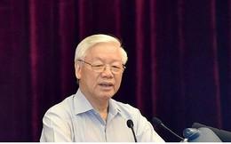 Toàn văn phát biểu của Tổng Bí thư về phòng, chống tham nhũng