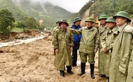 Chùm ảnh: Phó Thủ tướng Trịnh Đình Dũng chỉ đạo khắc phục hậu quả thiên tai tại Lai Châu