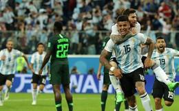Argentina vượt qua cửa tử, Messi vẫn tung hoành ở World Cup 2018