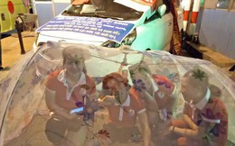 Người dân, tài xế mắc màn tại trạm BOT Tân Đệ