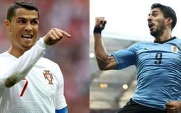 Bồ Đào Nha - Uruguay: Ronaldo dưới cơ Suarez!