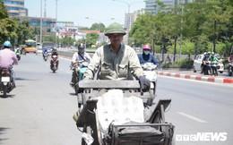 Ảnh: Dân lao động vật vã mưu sinh trong 'chảo lửa' Hà Nội
