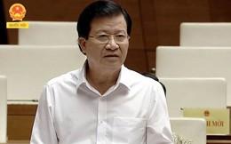 """""""Chia lửa"""" với Bộ trưởng Nguyễn Văn Thể về BOT, Phó Thủ tướng Trịnh Đình Dũng nói gì?"""