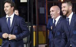 Ramos dẫn đầu dàn sao đội tuyển Tây Ban Nha đổ bộ đến Nga