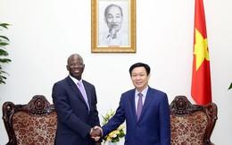 Phó Thủ tướng Vương Đình Huệ làm việc với WB về thuế tài sản