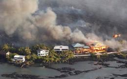 """Dòng sông nham thạch ở Hawaii """"nuốt chửng"""" 600 căn nhà"""