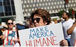 Hàng trăm nghìn người biểu tình phản đối chính sách nhập cư của ông Trump