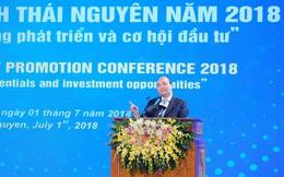 Thủ tướng: Thái Nguyên có thể trở thành một cực tăng trưởng của miền Bắc và cả nước