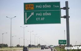 Ảnh: Tài xế tung chiêu né trạm thu phí Hà Nội - Bắc Giang