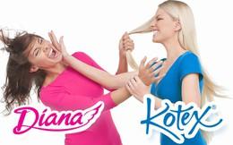 Bán sản phẩm không thể thiếu cho hàng triệu phụ nữ Việt Nam, Kotex và Diana đang làm ăn làm ra sao?