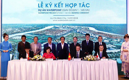 Nam Long (HOSE: NLG) công bố hợp tác phát triển 165 hecta giai đoạn 1 khu đô thị Waterpoint