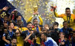 Vô địch World Cup 2018, đội tuyển Pháp được nhận tiền thưởng nhiều nhất từ trước đến nay