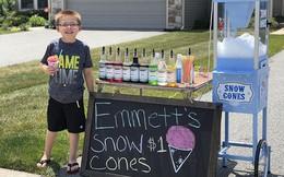 Ông bố dạy con bài học đầu tiên về tiền bạc, không ngờ cậu bé lại kinh doanh thành công ngay từ khi 6 tuổi