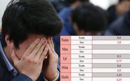 """Từ 9 điểm Toán thành 1 điểm """"liệt"""", thí sinh từng đứng top ở Hà Giang đã trượt tốt nghiệp sau khi có kết quả thẩm định"""