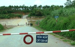 Nghệ An: Nhiều thôn bản bị cô lập do mưa lũ trước cơn bão số 3