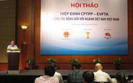 Hiệp hội dệt may: Cuộc chiến thương mại Mỹ Trung có lợi cho dệt may Việt Nam