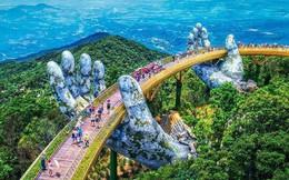 Cầu Vàng Đà Nẵng xuất hiện trên trang Instagram nghệ thuật nổi tiếng thế giới và nhận được vô vàn lời khen