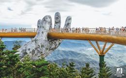 Mê mẩn với dự án cây cầu vàng trên đỉnh Bà Nà, không thua kém cầu treo Langkawi Sky (Malaysia)