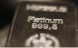 Giá bạch kim giảm kỷ lục, xuống đáy 13 năm