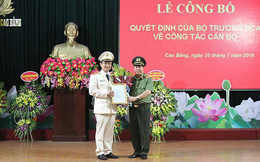 Công an tỉnh Cao Bằng có tân Giám đốc