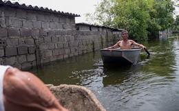 """Nước lũ ngập nhà cửa tại Hà Nam, dân 9 tháng """"chạy loạn"""" 2 lần"""