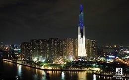 Tòa nhà cao nhất Việt Nam lung linh về đêm giữa Sài Gòn
