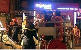 Hà Nội: Cháy lớn tại phố Trần Hưng Đạo, cứu sống 5 người bị mắc kẹt
