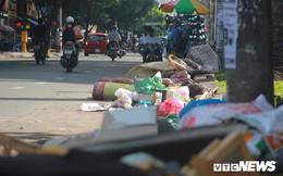Rác thải ngập ngụa, bốc mùi hôi thối ở con đường đẹp nhất quận 10 TP.HCM