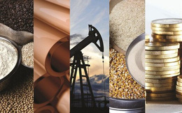 Thị trường hàng hóa ngày 03/07: Đồng loạt sụt mạnh, vàng thấp nhất 6 tháng rưỡi, bạnh kim chạm đáy 10 năm