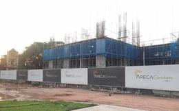 Bắc Giang: Chung cư Bách Việt Areca Garden xây dựng tới tầng 4 mới phát hiện chưa có GPXD