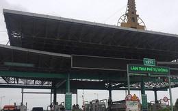 BOT Mỹ Lộc xả trạm sau khi cánh tài xế tụ tập phản đối