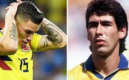 Hai tuyển thủ Colombia bị dọa giết sau khi đá hỏng phạt đền ở World Cup 2018