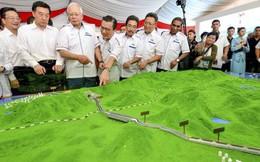 Cựu thủ tướng bị bắt, Malaysia đình chỉ các dự án trị giá 22 tỷ USD do Trung Quốc hậu thuẫn