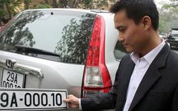 Trình Thủ tướng đề án đấu giá biển số xe đẹp