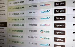 Sát giờ G chuyển 11 số sang 10 số, thị trường SIM tăng giá mạnh